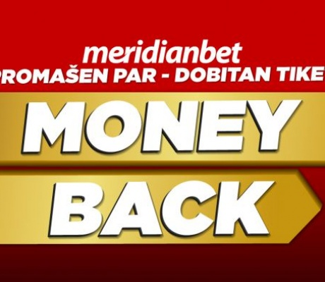 MONEY BACK: Naplati tiket sa promašenim parom