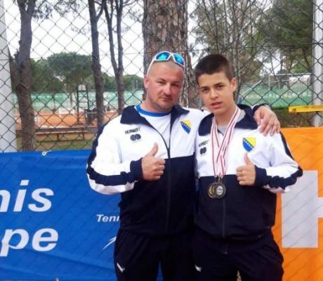 DOBOJ: Marko Maкsimović od strane Međunarodne teniske federacije izabran u tim Evrope