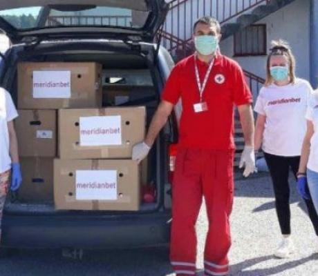 Volonterski tim kompanije Meridian djeluje širom regiona