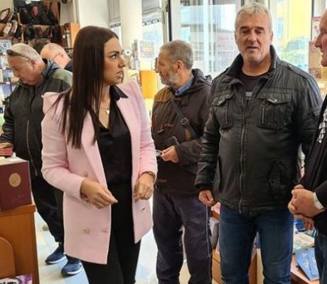 DOBOJ: Knjižara Zavoda organizovala druženje sa književnikom Tešanovićem