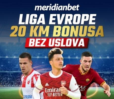 Meridian: 24 meča Lige Evrope! Ko želi da zaradi na fudbalu?