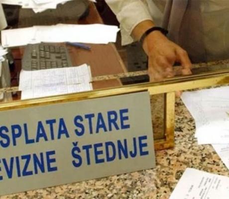 Otplaćeno preko 90 odsto verifikovane stare devizne štednje u Srpskoj