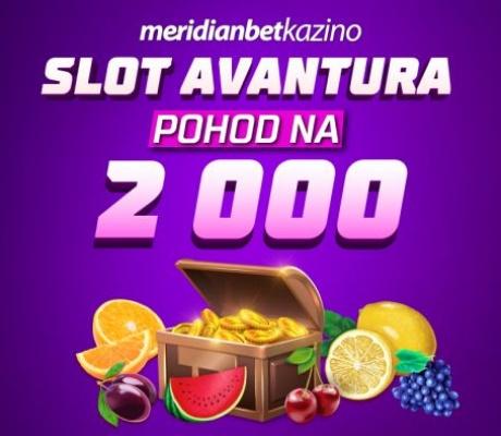 Meridian Online Kazino predstavlja Slot Avanturu!