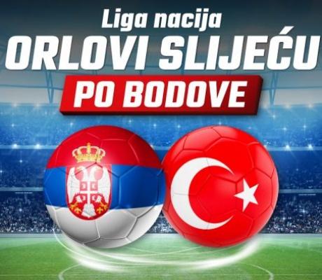 Meridianbet: Fudbalski SPEKTAKL! Srbija ili Turska?