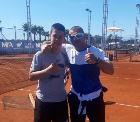 DOBOJ: Marko Maкsimović osvojio međunarodni turnir iz kalendara Tennis Europe