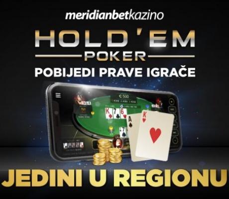 TEXAS HOLDEM POKER: Igraj protiv pravih igrača!
