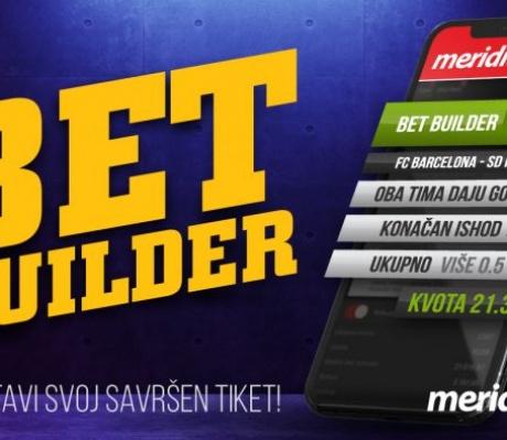 BET BUILDER i EURO 2020: Samo u Meridianu kombinuj na jednoj utakmici sve što poželiš!