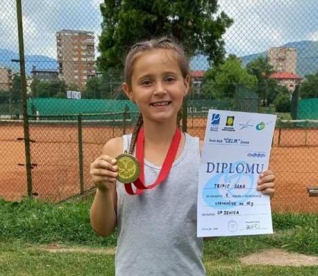 DOBOJ: Sara Tripić pobjednica Otvorenog prvenstva Zenice