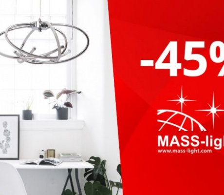 VELIKI POPUST U MASS-LIGHT SALONIMA RASVJETE DO 45%