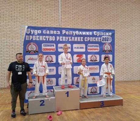 DOBOJ: Dvije šampionske i jedna vicešampionska titula za džudiste iz Karanovca (FOTO)