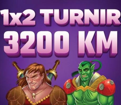 Budite kraljevi igre i uskočite u 1x2 Turnir na Meridian kazinu!