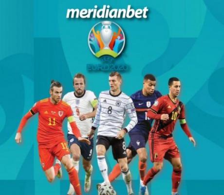 """EURO 2020: Meridian je """"nabildovao"""" najveće kvote na planeti sa EXTRA POKLONIMA!"""