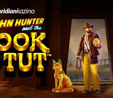 Meridian Online Kazino EKSKLUZIVA – video slot John Hunter and the Book of Tut!