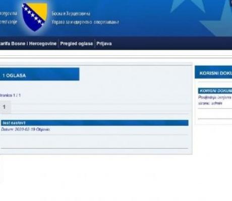 Implementacija novog carinskog portala