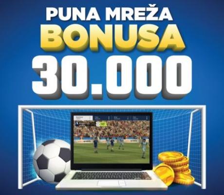 Meridian online kazino sa nagradnim fondom od 30.000 KM!