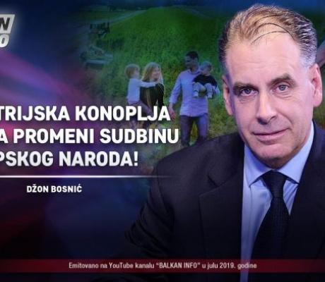 Bosnić u Banjaluci osnovao firmu za uzgoj konoplje