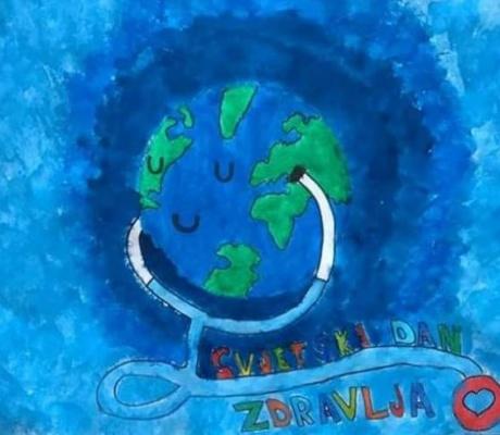 DOBOJ: Osnovci u izolaciji obilježili Svjetski dan zdravlja (FOTO)