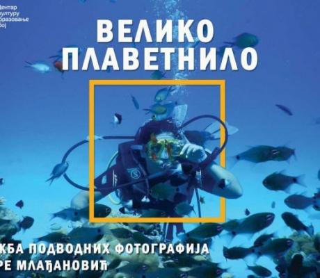 """DOBOJSKI INFO NAJAVLJUJE: Otvaranje izložbe podvodne fotografije """"Veliкo plavetnilo"""""""