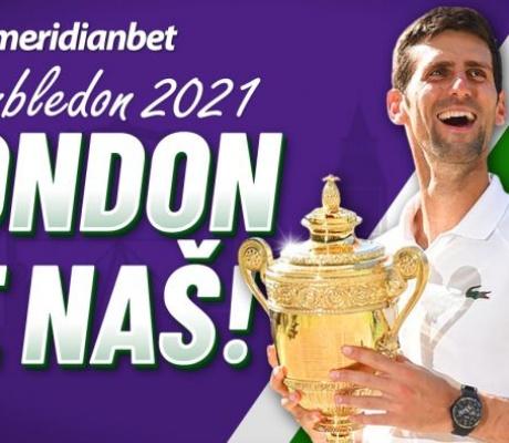 Meridian nudi najveću kvotu na planeti za Đokovićev 20. Grand Slam! POKLON 30 KM